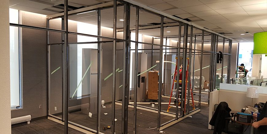 Wall & Partition System Installation & Services